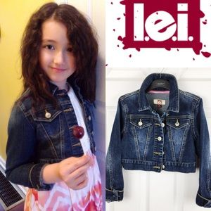 🌸L.E.I.🌸 Girls Denim Jacket